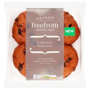 Waitrose Gluten Free 4 Fruited Teacakes