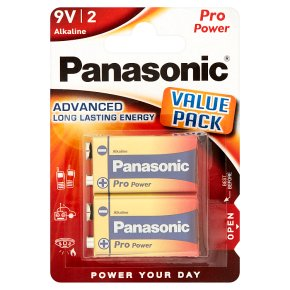 Panasonic pro power 9V