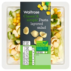 Waitrose Pasta Layered Salad