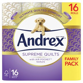 Andrex Toilet Tissue Quilts White