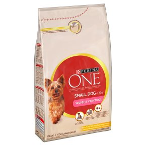 Purina ONE Weight Control Small Dog Food Turkey