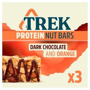 Trek Protein Nut Bars Dark Chocolate & Orange