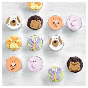 12 Animal Cupcakes