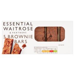 essential Waitrose 5 brownie bars