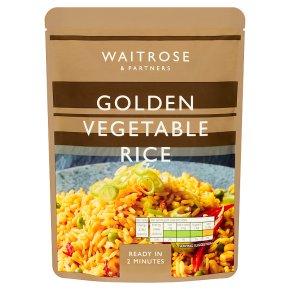 Waitrose Golden Vegetable Rice