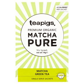 Teapigs Matcha Single Serve Sachets