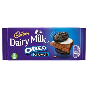 Cadbury Dairy Milk Oreo Sandwich Chocolate Bar