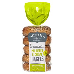 Fitzgeralds Multiseed & Cereal Bagels