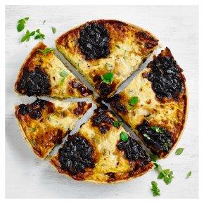 Extra Mature Cheddar, Caramelised Onion & Leek Quiche