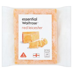 essential Waitrose Red Leicester cheese, strength 3