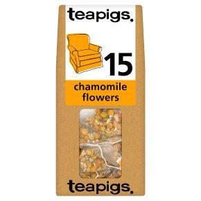 Teapigs chamomile flowers tea 15 bags