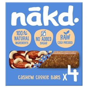 Nakd Cashew Cookie Wholefood Bars