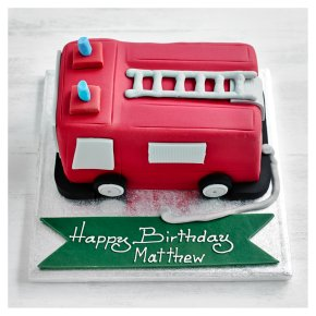 Fire Engine Cake