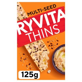 Ryvita thins multi-seed flatbread