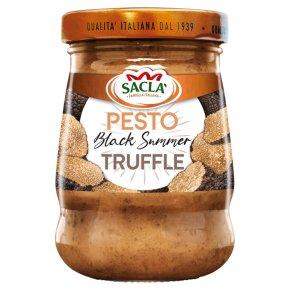 Sacla' black summer truffle pesto