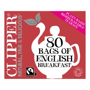Clipper Fairtrade English Breakfast Tea Bags