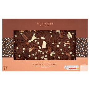 Waitrose Chocolate Traybake