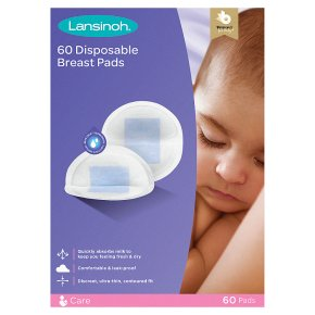 Lansinoh ultra thin disposable nursing pads