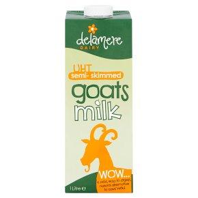 Delamere UHT Semi-Skimmed Goat's Milk