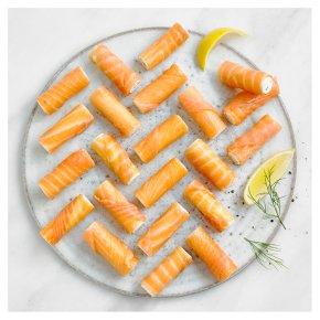 24 Smoked Salmon Rolls