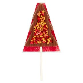 Waitrose Milk Chocolate Tree Lollipop