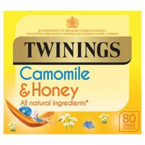Twinings Camomile & Honey 80 Teabags