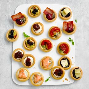 Pastry Galette Canapés - mixed