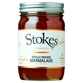 Stokes real preserves orange marmalade