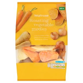 Waitrose Roasting Vegetable Medley
