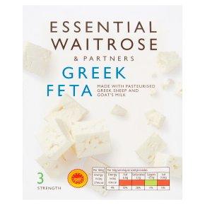 essential Waitrose Greek Feta Strength 3
