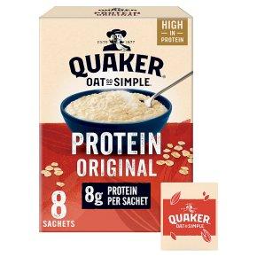Quaker 8s Oat So Simple Protein Original