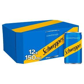 Schweppes lemonade multipack cans