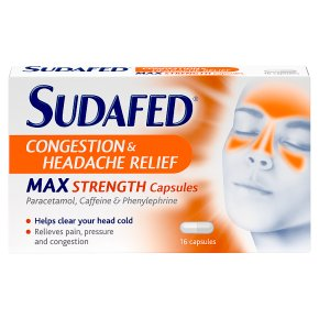 Sudafed Congestion Capsules