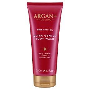Argan 5 Moroccan rose body wash