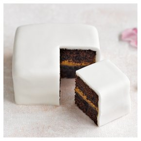 Mini Taster Cake Chocolate Salted Caramel