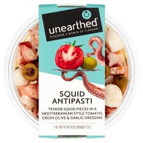 Unearthed Squid Antipasti