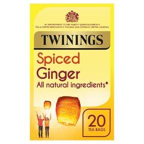Twinings ginger 20 tea bags