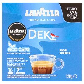 Lavazza A Modo Mio Decaffeinated Coffee Capsules X16