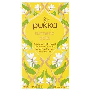 Pukka Turmeric Gold 20Herbal Tea Sachets