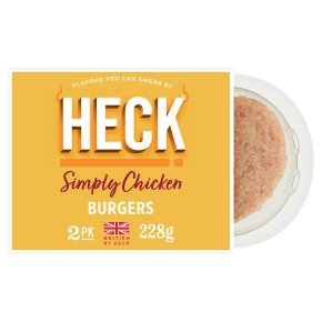 Heck Simply Chicken Burgers