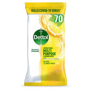 Dettol Power & Fresh cleaning wipes, citrus zest