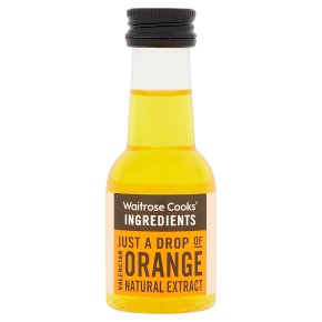 Waitrose Cooks' Homebaking orange extract