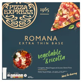 Pizza Express Romana Vegetable & Ricotta