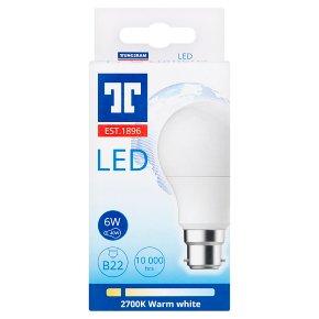 Tungsram LED B22 6w