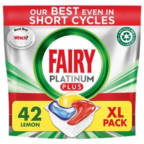Fairy Platinum Plus Lemon All in One Capsules