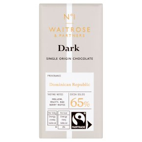 No.1 Dominican Republic Dark Chocolate 65%