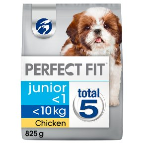 Perfect fit junior/puppy small dry dog food in chicken
