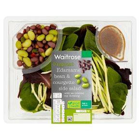 Waitrose Edamame Bean & Courgette Side Salad