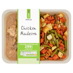 Waitrose LoveLife Calorie Controlled chicken with madeira wine & porcini mushrooms