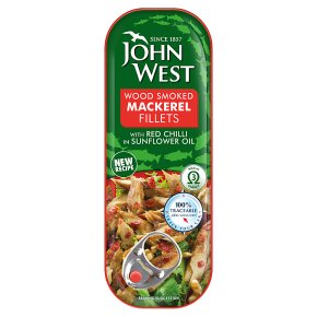 John West Smoked Mackerel Red Chilli